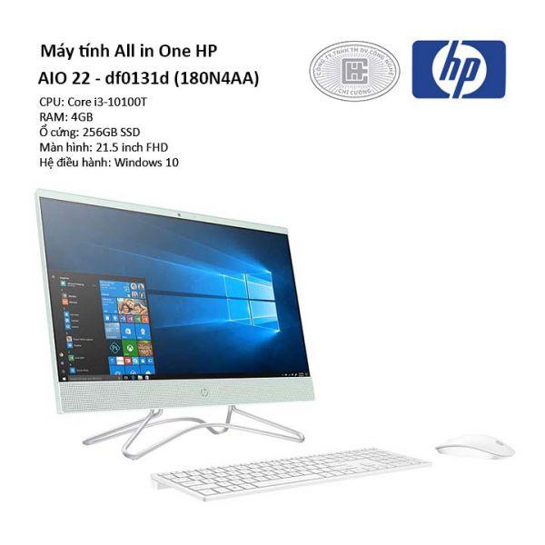 Máy tính All In One HP 22-df0131d i3 10100T_180N4AA