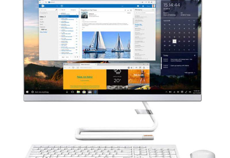 Cận cảnh máy tính All in one Lenovo IdeaCentre 3 24IIL5-F0FR008PVN
