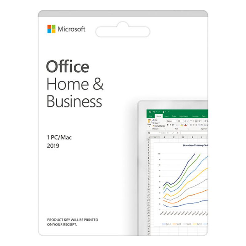 Phần mềm Microsoft Office Home and Business 2019 English APAC EM Medialess P6 (T5D-03302)