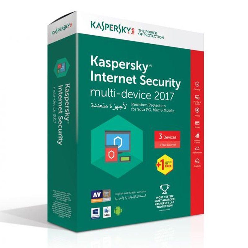 Phần mềm diệt virut Kaspersky Internet security 3 PC