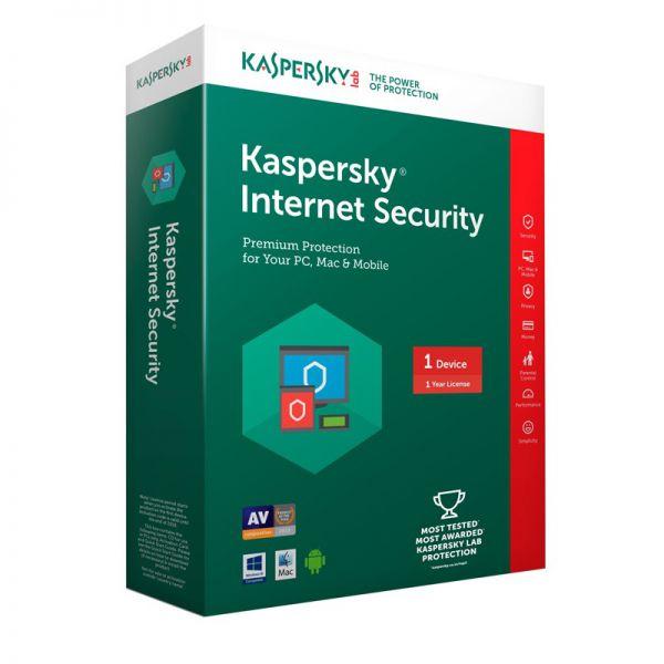 Phần mềm diệt virus Kaspersky Internet security 1 PC