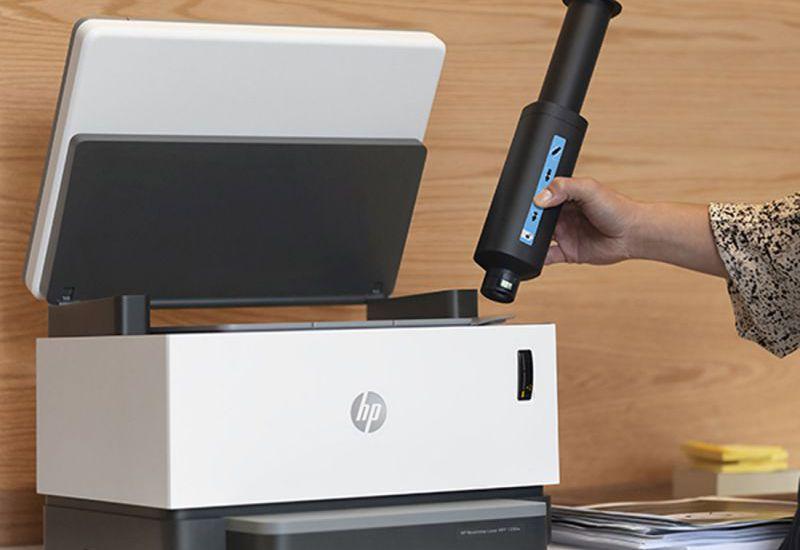 Hướng dẫn lắp và cài đặt máy in HP Neverstop Laser 1000w phần 1