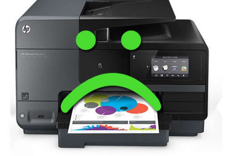 các lỗi cơ bản của máy in