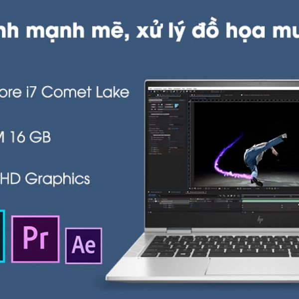 Laptop HP EliteBook x360 1030 G7 i7-10710U/16G/512G+32G/13.3''
