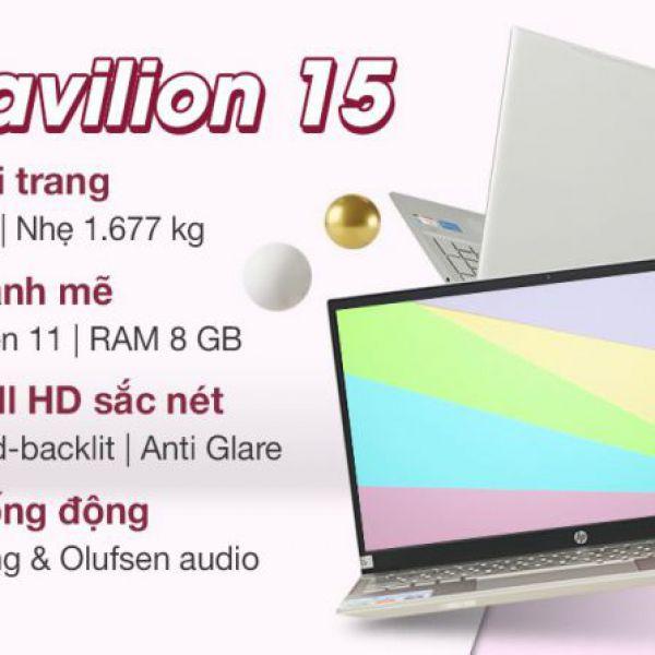 Laptop HP Pavilion 15-eg0505TU i5-1135G7/8G/512G/15.6''